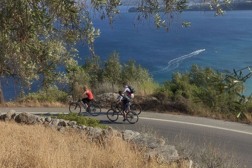 Cycling. Corfu has innumerable cycle routes of various levels of difficulty to satisfy all cyclists. Mountain or seaside routes, having the island's breathtaking landscape as their companion.
