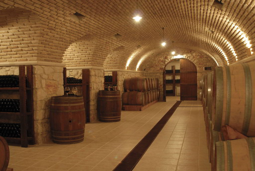 Wine cellar, open to visitors